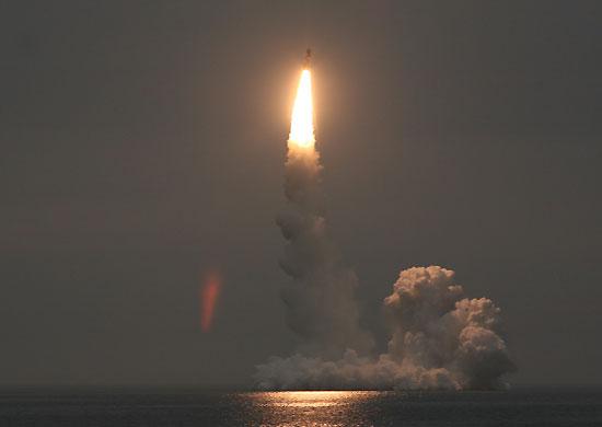 Russisk ubåt testet nye atom-missiler