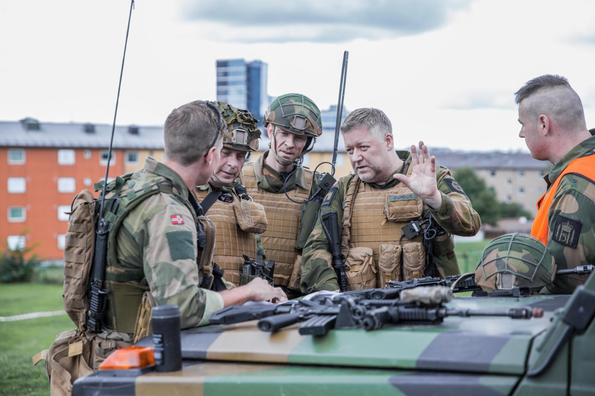 Stor HV-øvelse på Østlandet