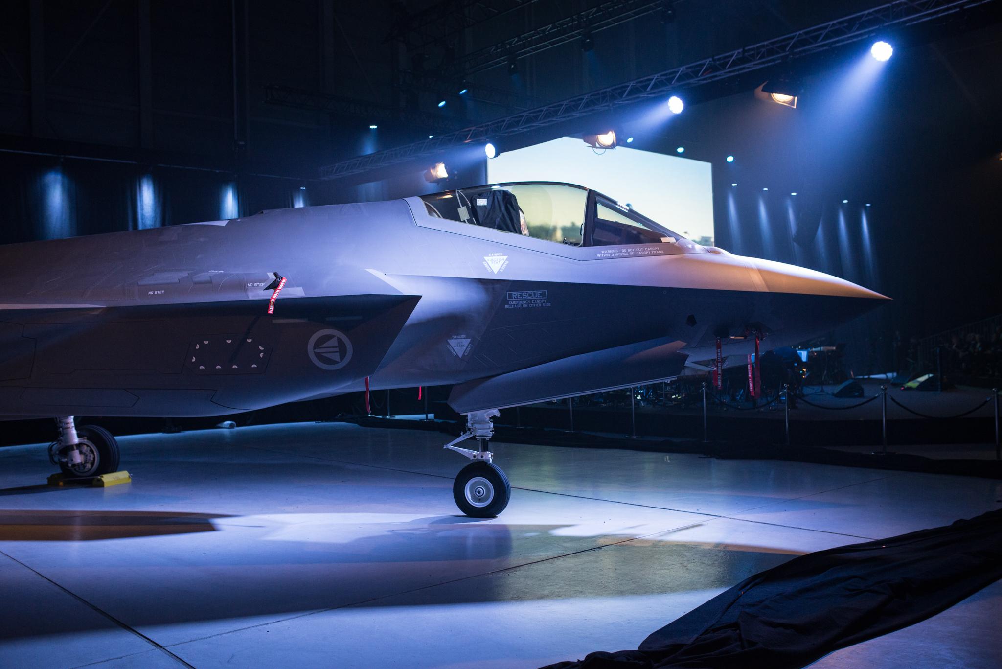 Avviser F-35-problemer
