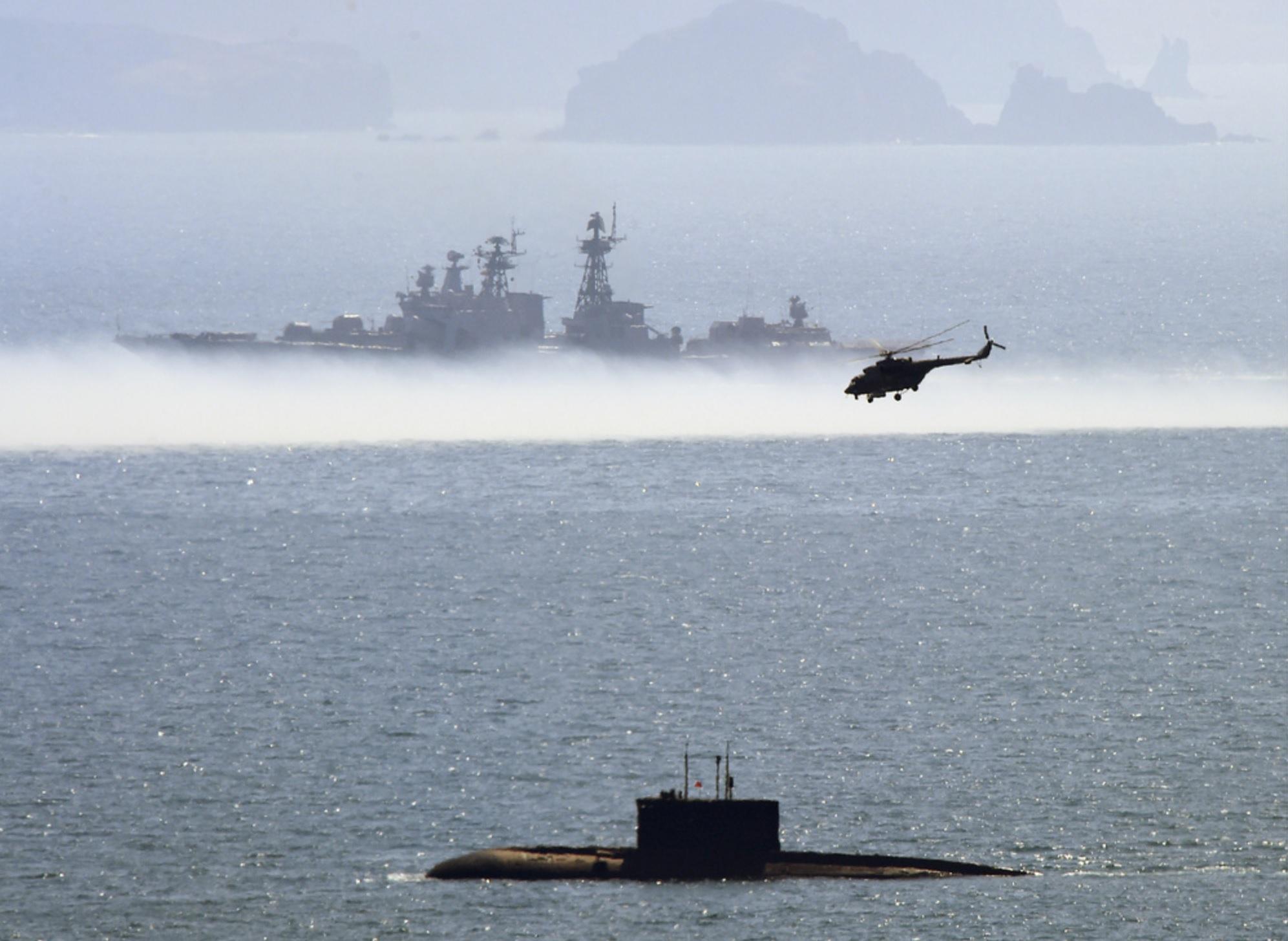 Russland bygger over 50 nye krigsskip