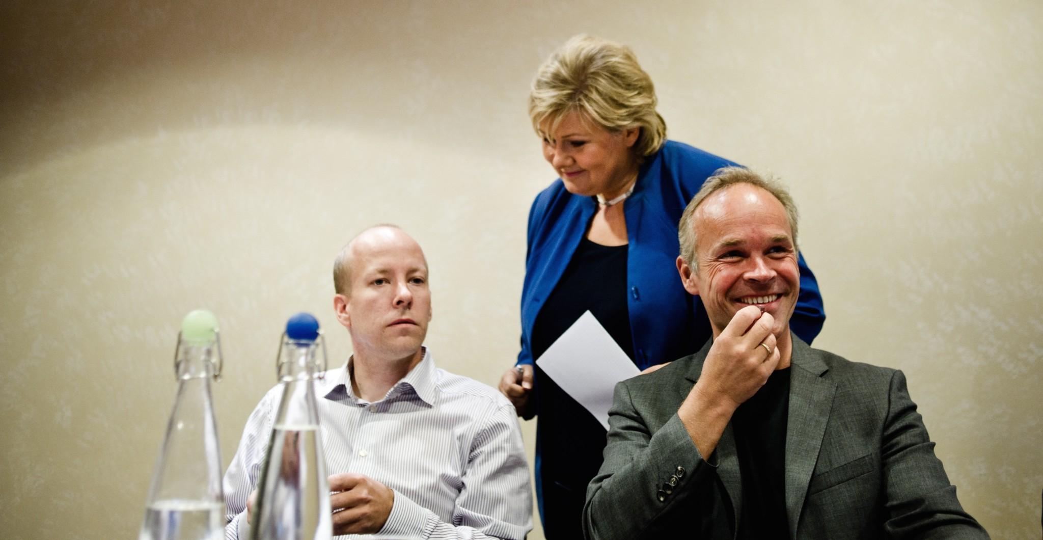 — Høyres forhandlingsleder stod bak