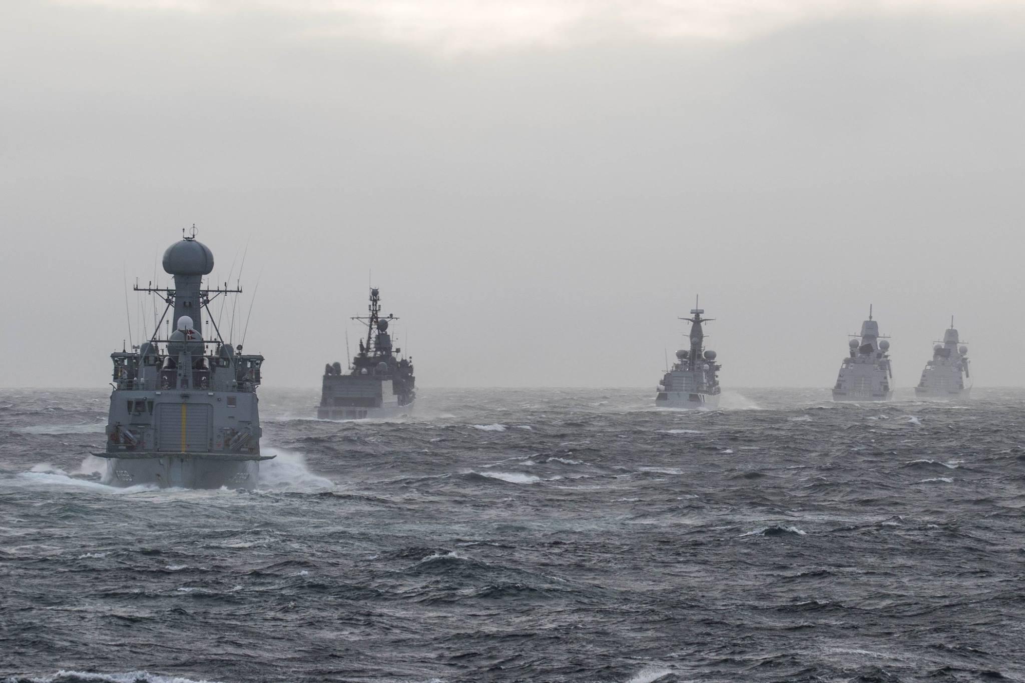Norske skip og fly med i storøvelse