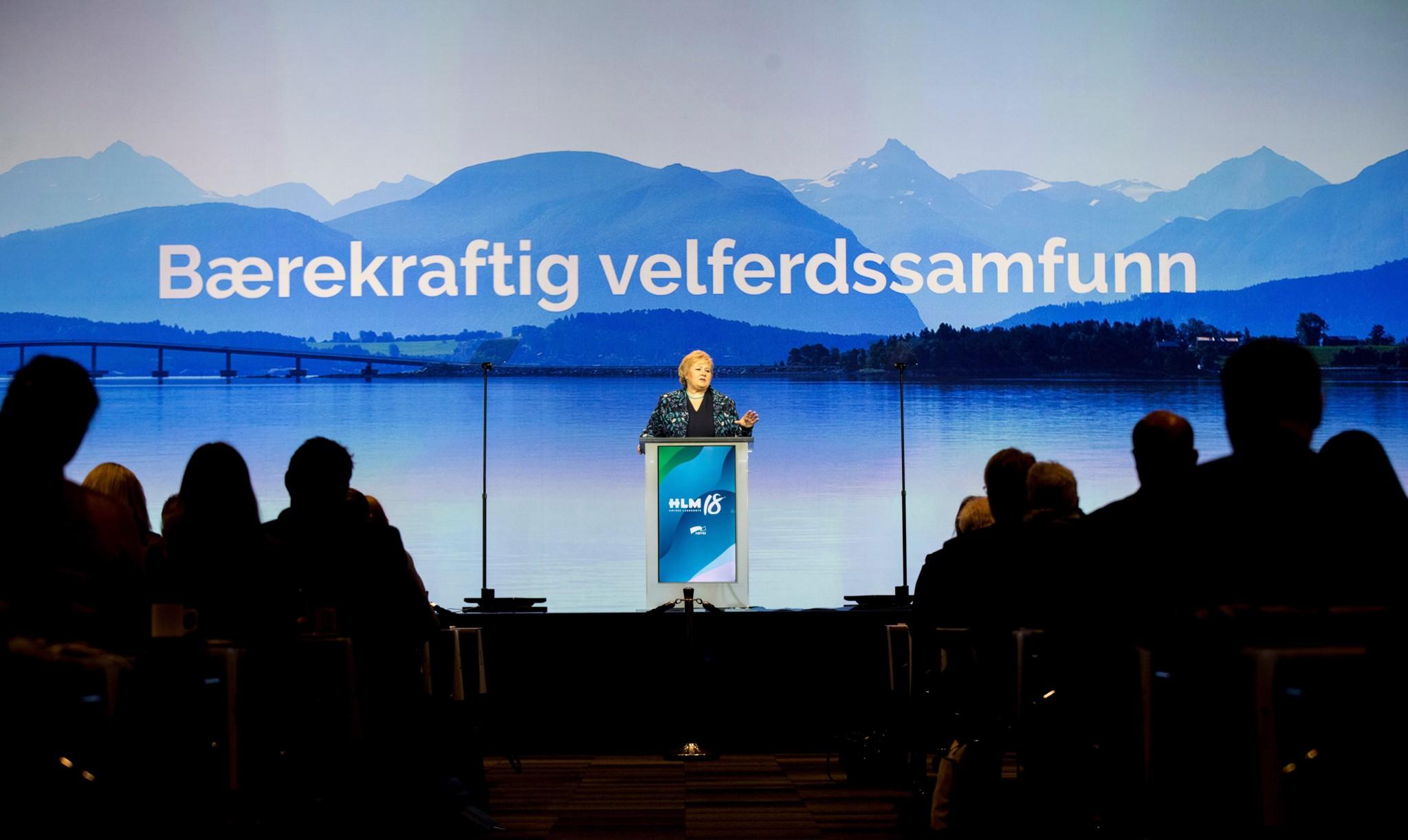 Ny 2-prosentkamp på Høyres landsmøte