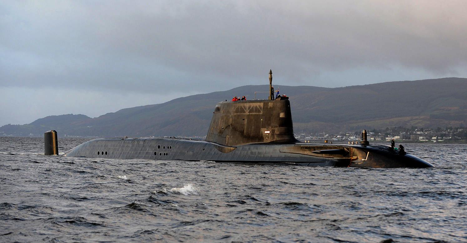 Storbritannia styrker ubåtflåten