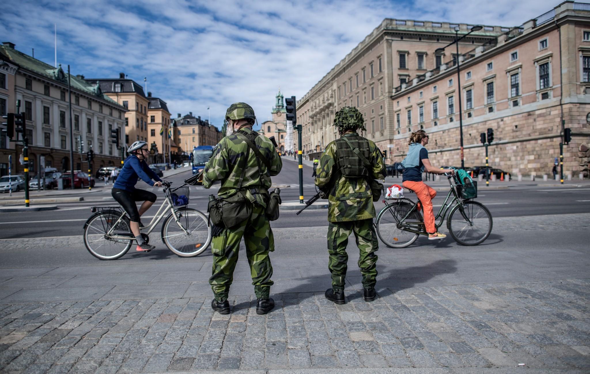 Sverige: Største HV-øvelse i nyere tid