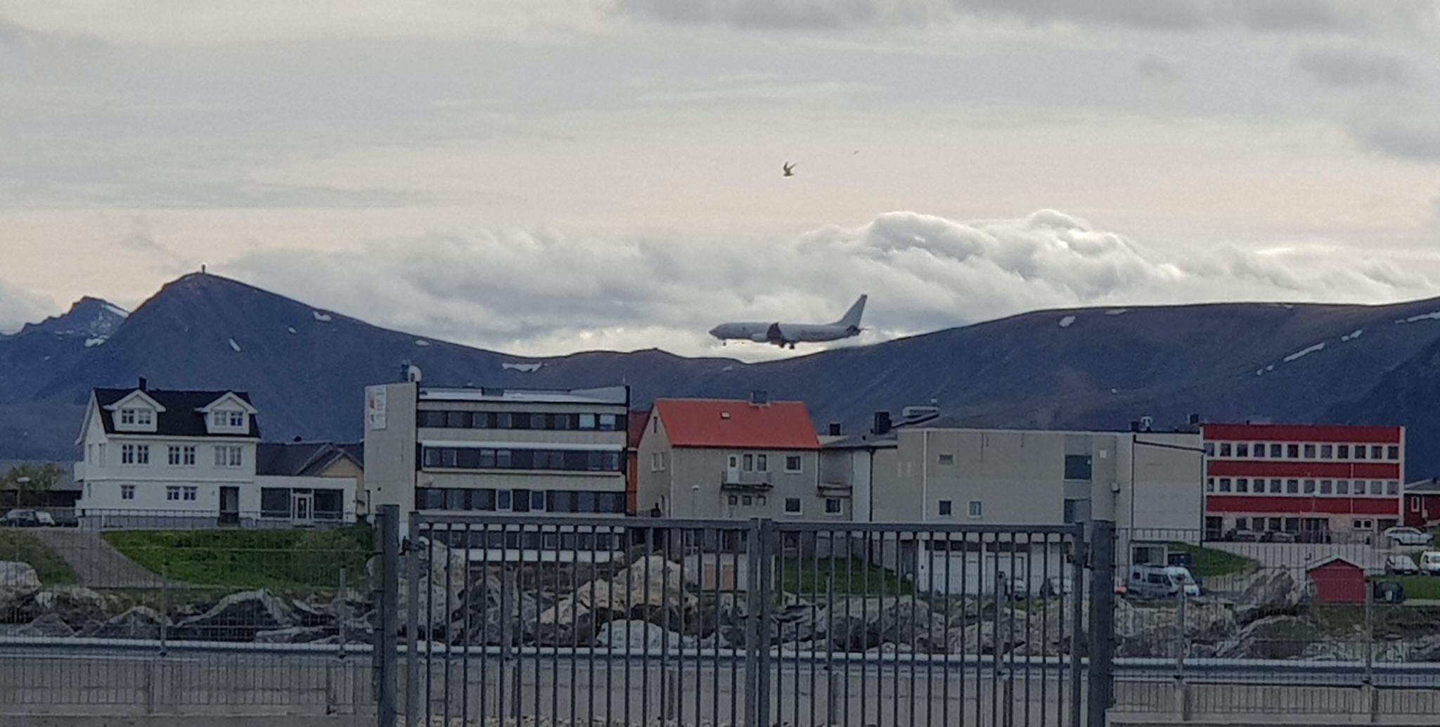 Fastholder at USA er på Andøya for å øve