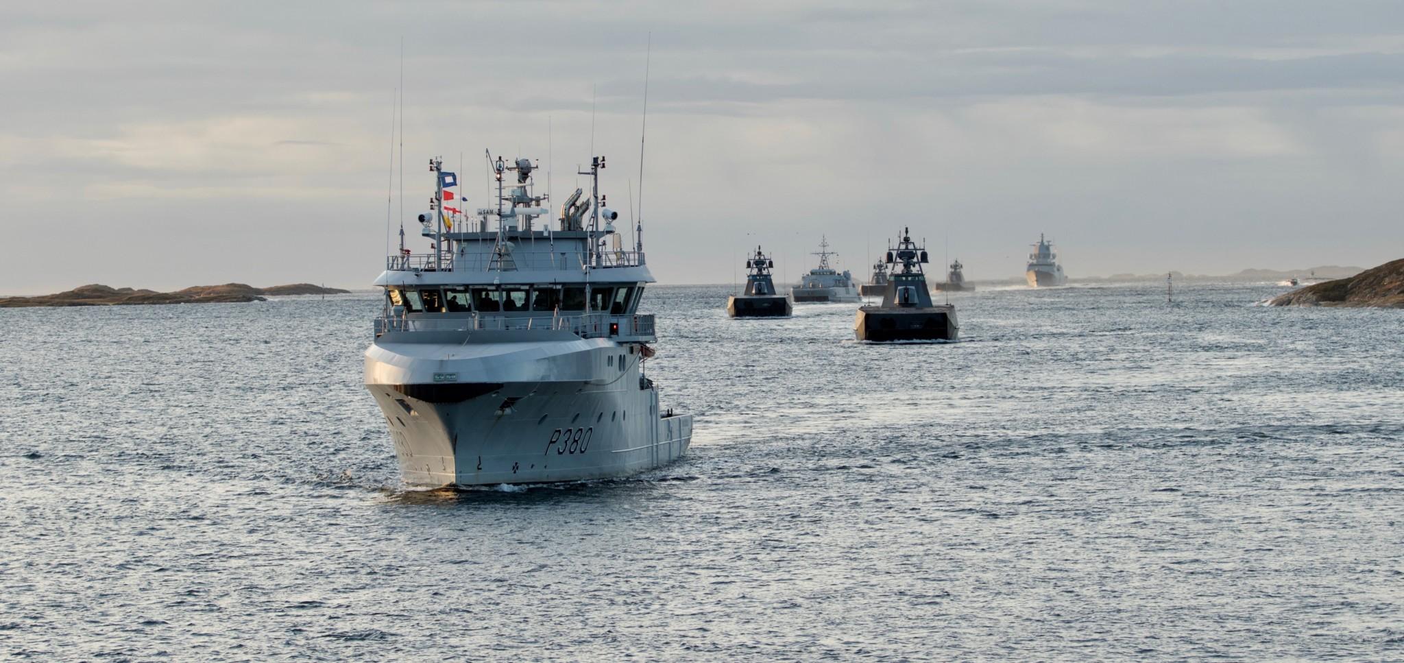 Påkjørt av småbåt etter fregattvakthold