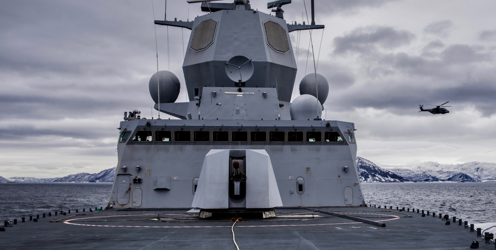 Kritisk til fregattmannskapets vurderinger