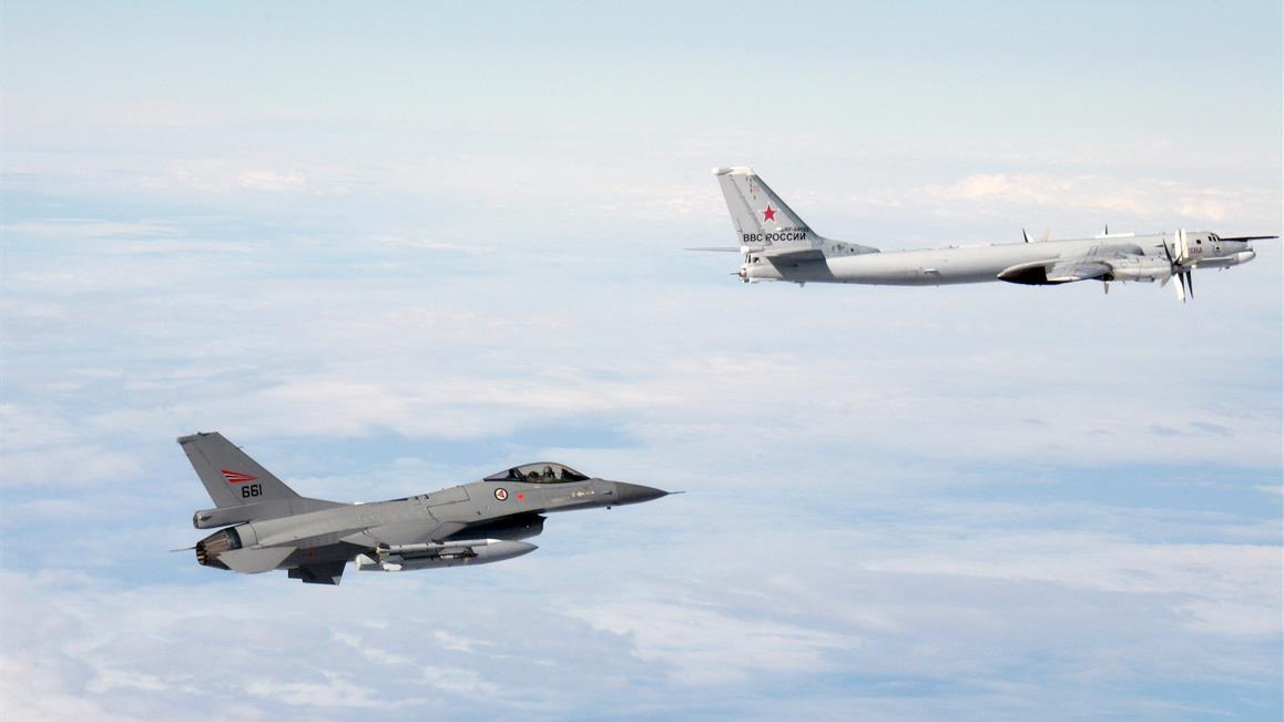 Kraftig økning i scrambles for norske kampfly