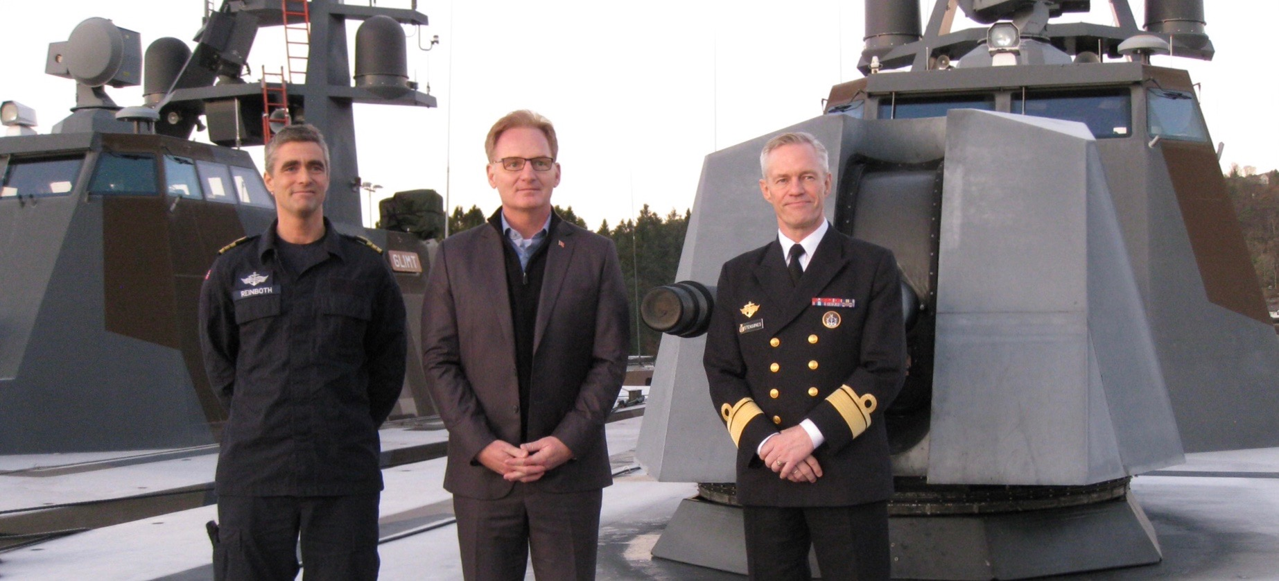 Til Norge for å vurdere maritim overvåking