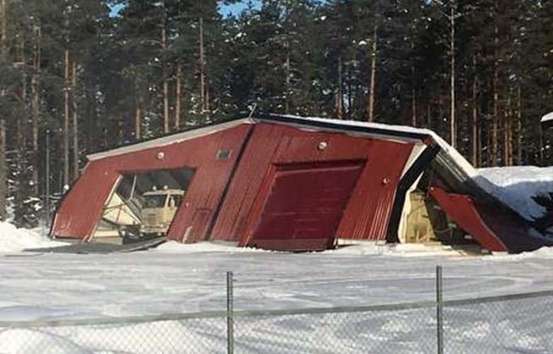 Snøfall ga 10 mill. i verkstedskostnader