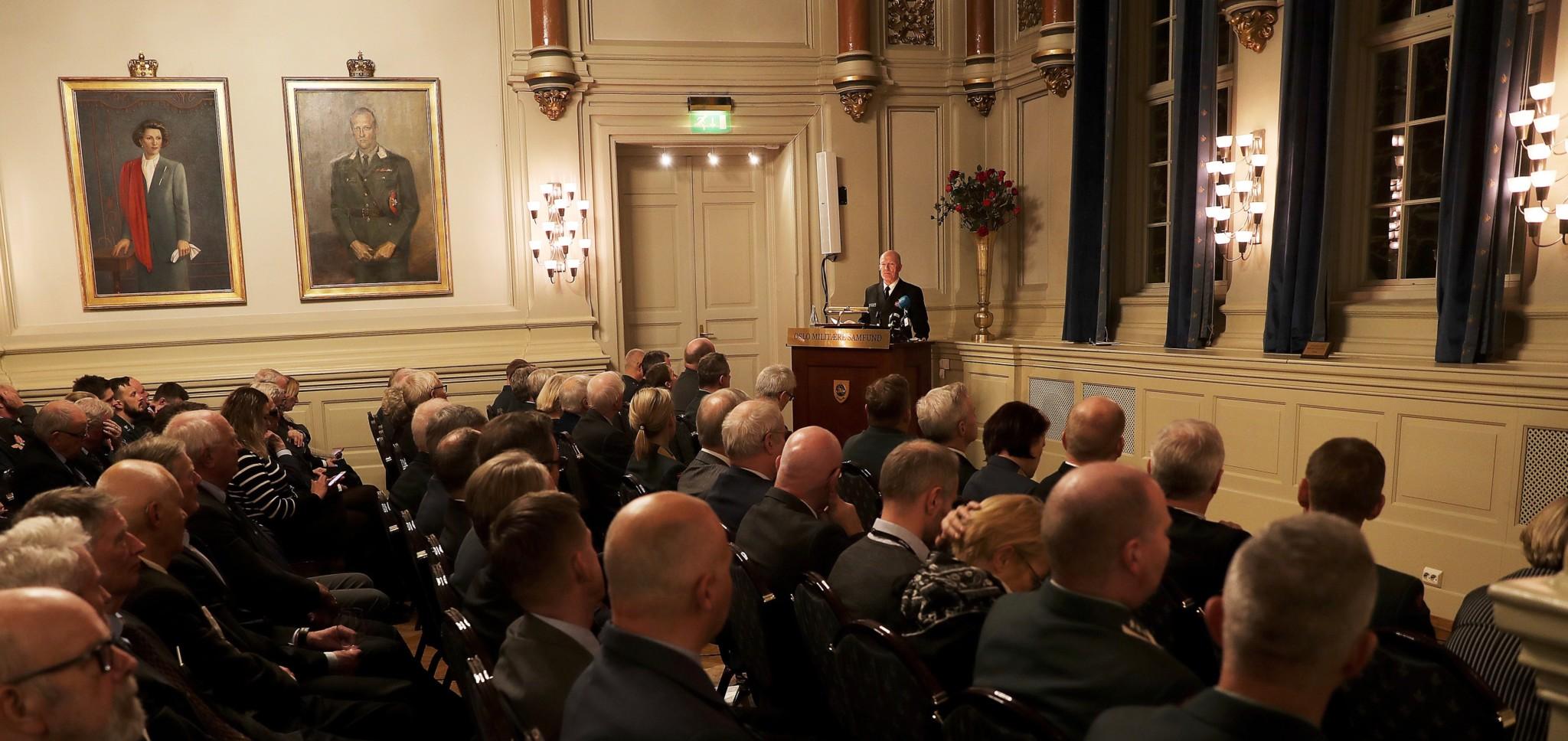 — Norges forsvarsevne er for dårlig