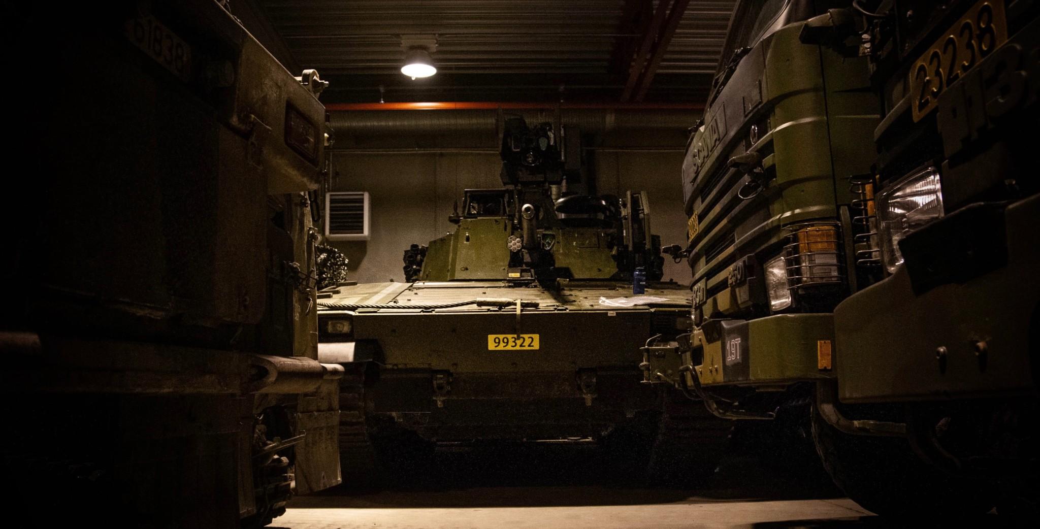 Helsefarlige feil på nye kampvogner
