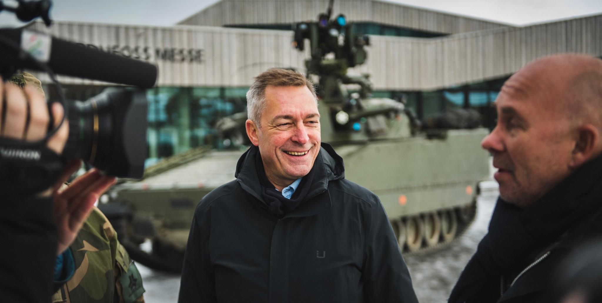 Norge inn i europeisk forsvarssamarbeid