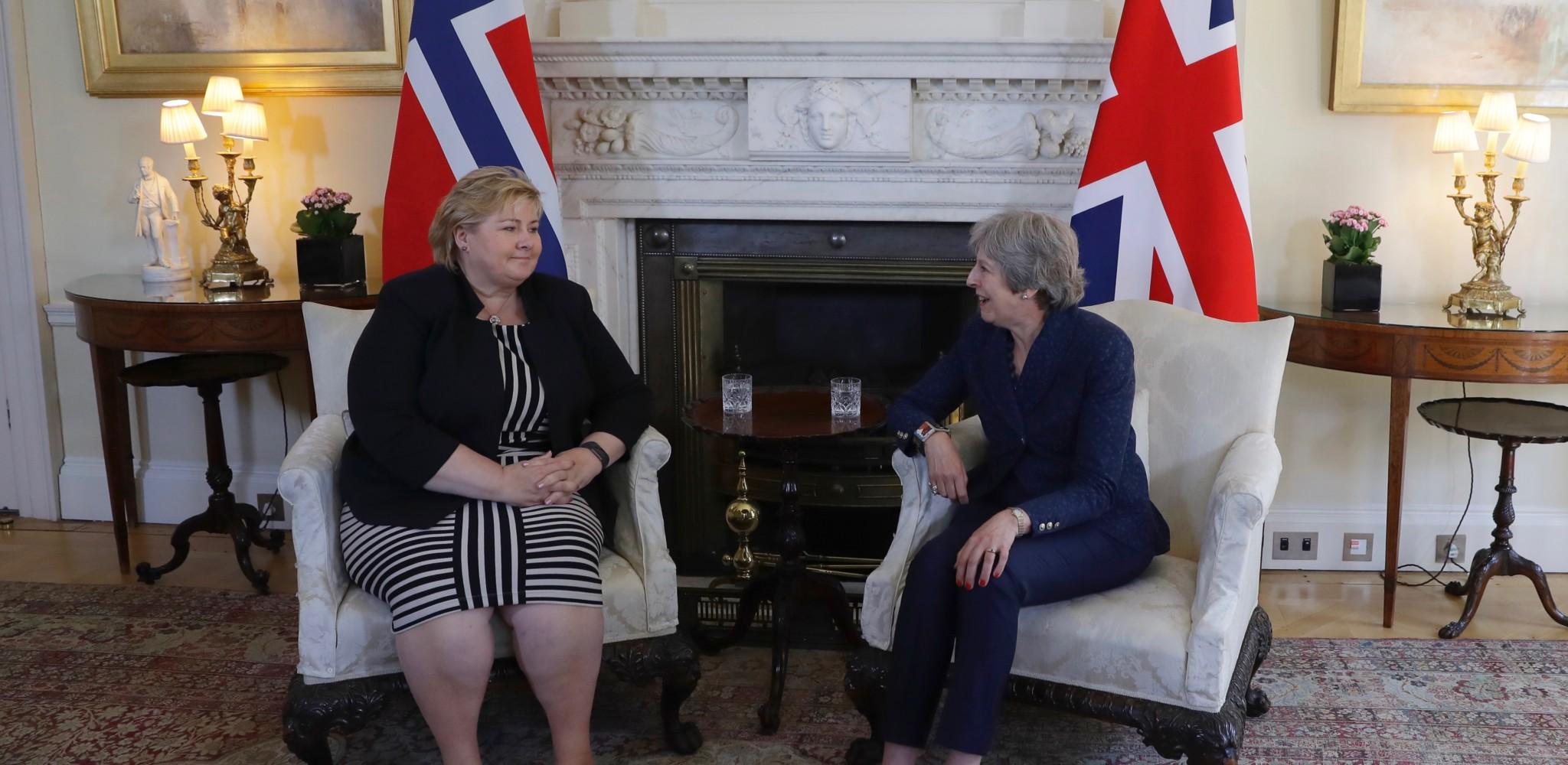 Norge og Storbritannia enige om kriseavtale