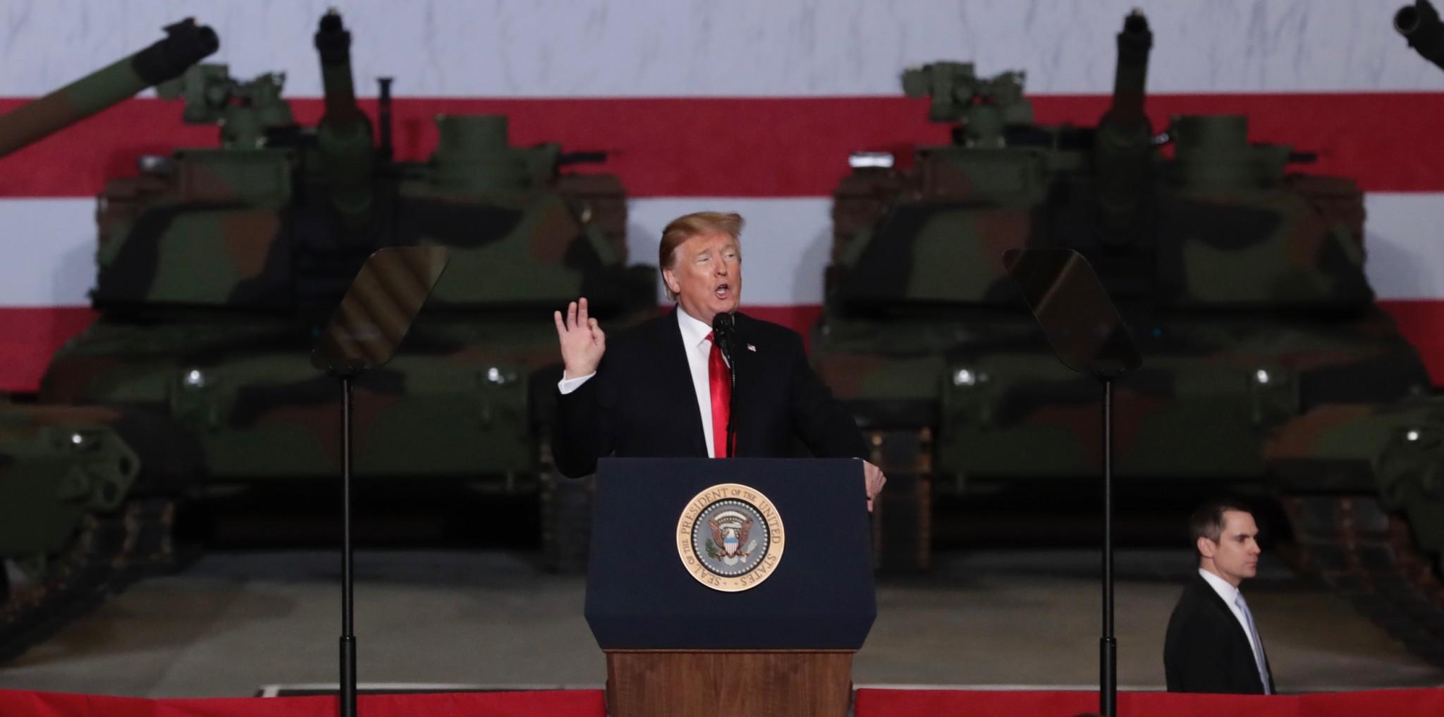 Trump: IS snart fjernet fra kartet