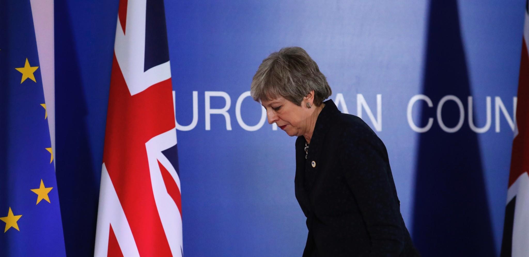 Kniven mot strupen for britene