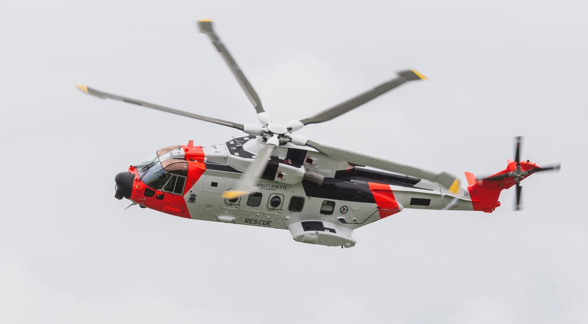 AW-101: Ny tidsalder for redningstjenesten