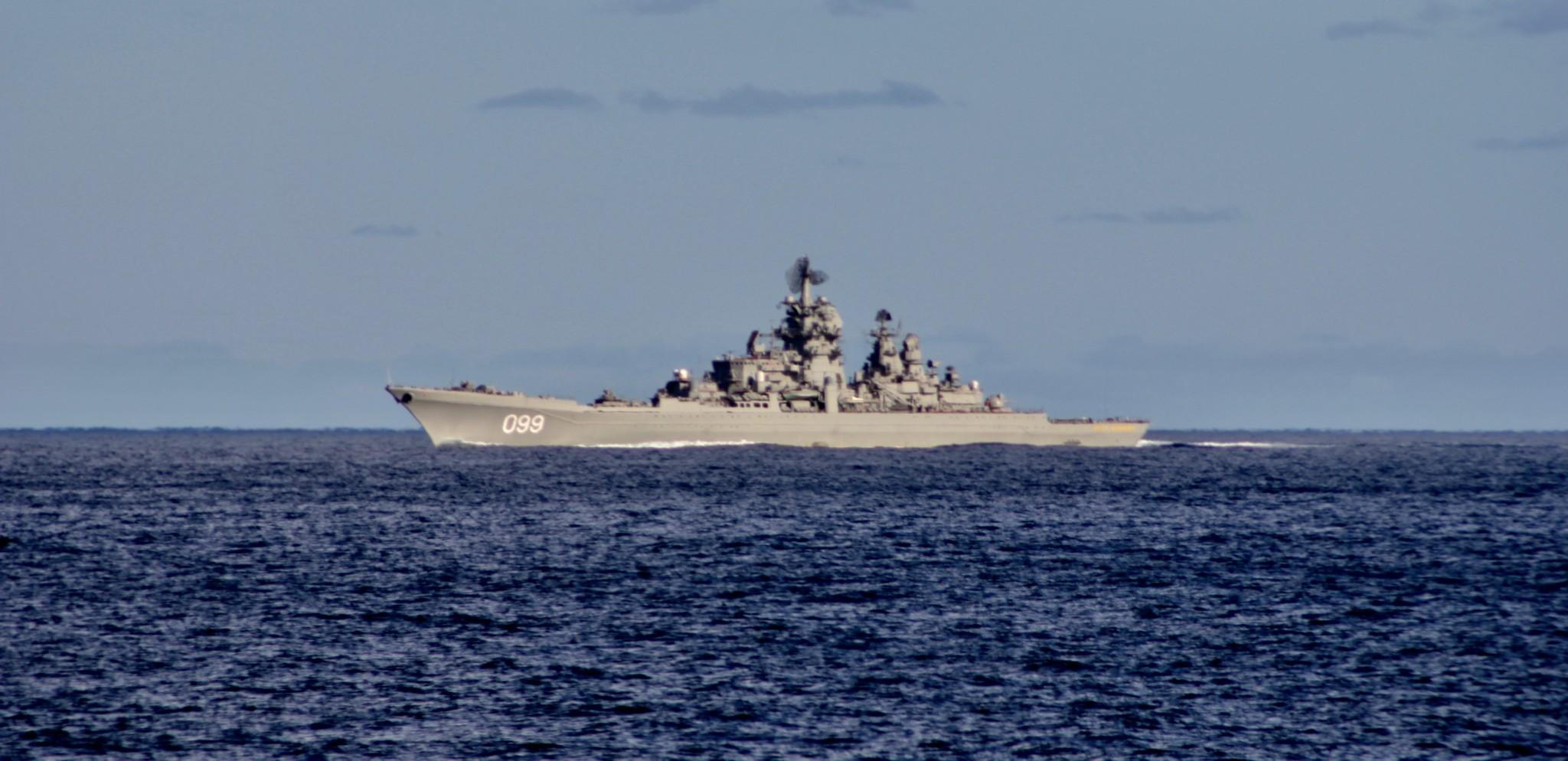 Stor russisk marineflåte på vei mot Norge