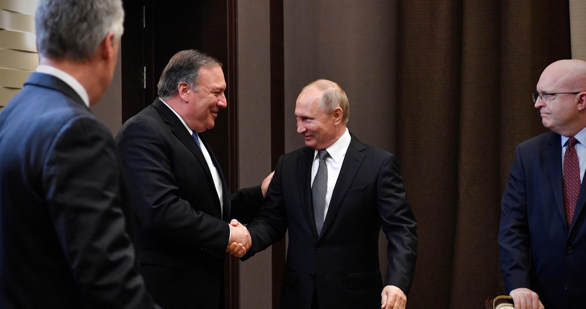 Enig med Putin om veien videre i Syria