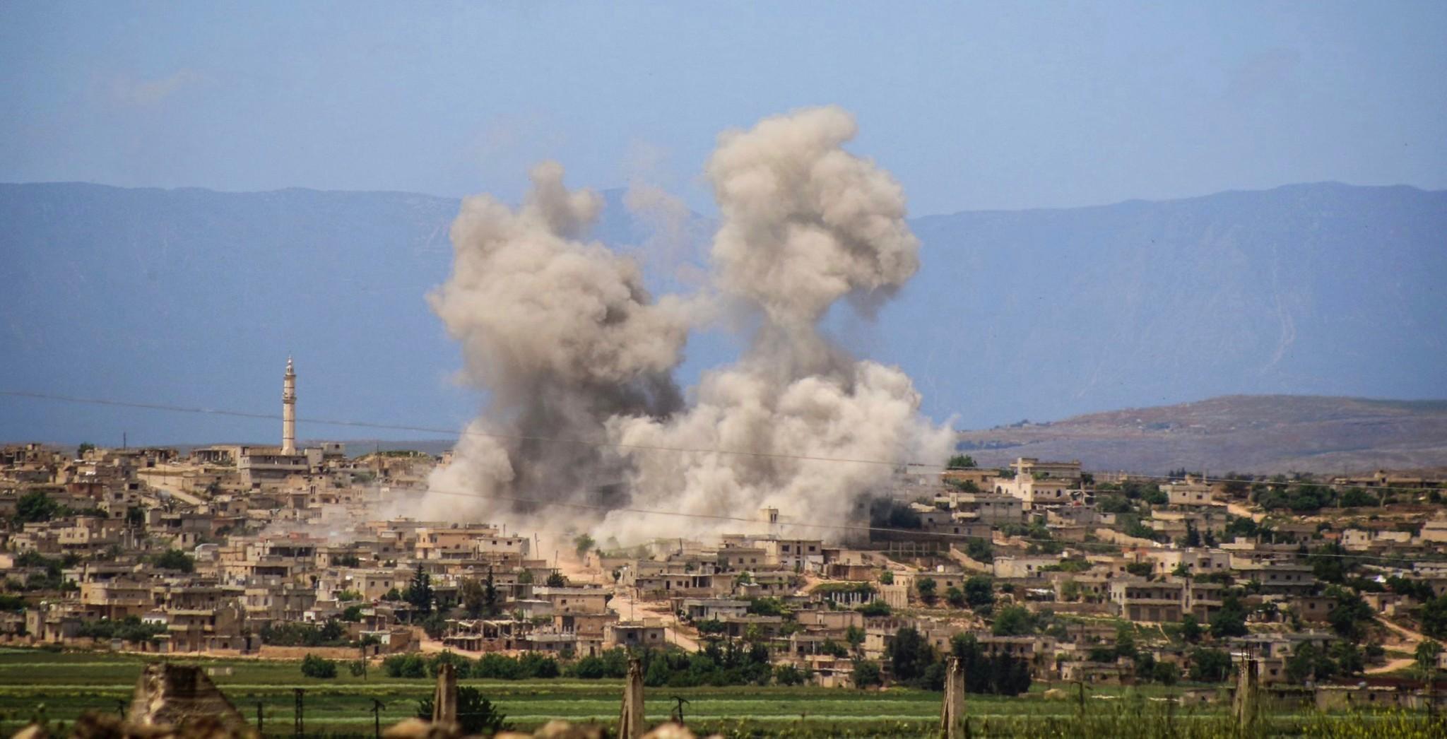 Mener kjemiske våpen er brukt i Syria
