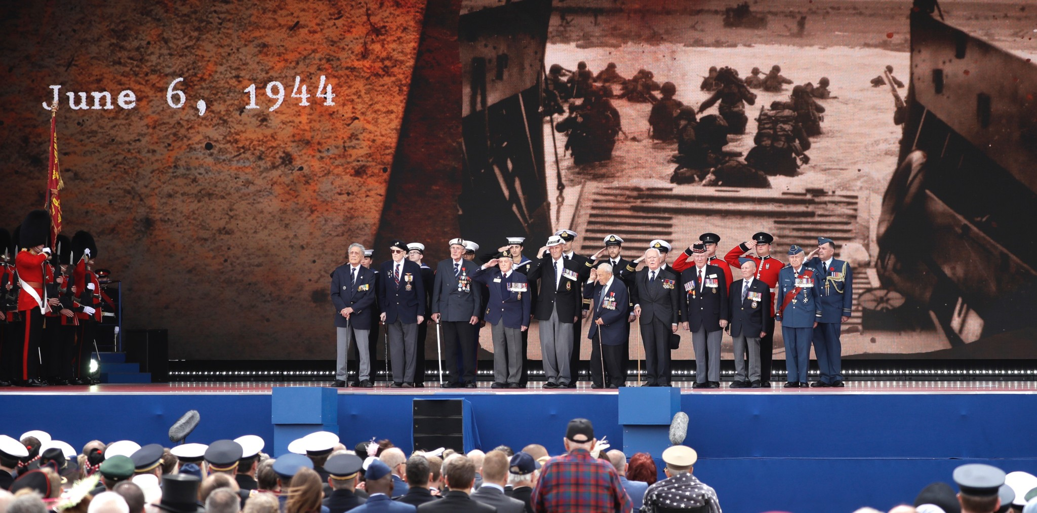 Markerte 75 år siden D-dagen