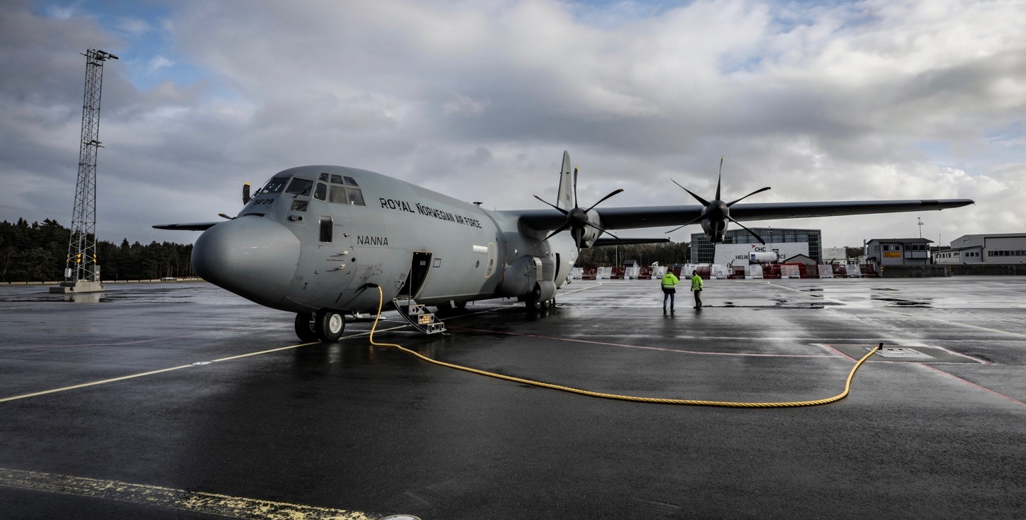 Vil ikke sette C-130J-fly på bakken