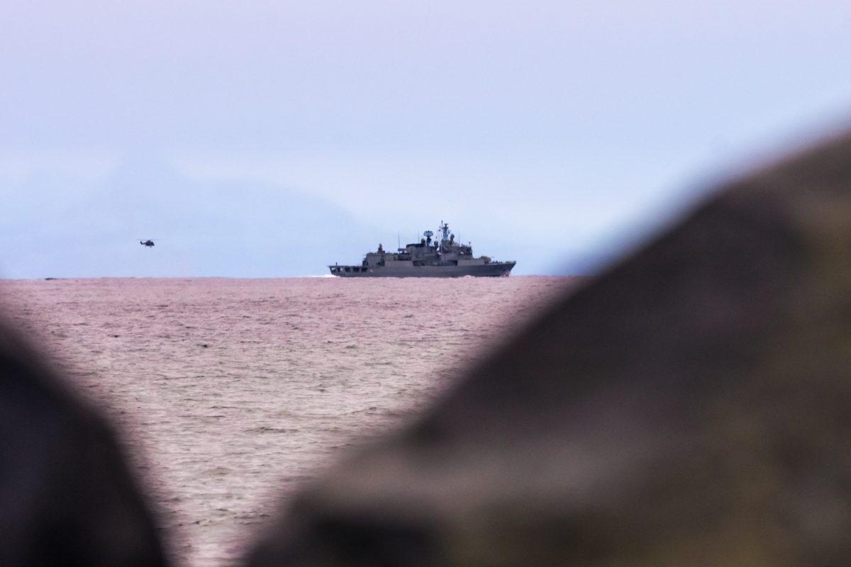 Ubåtjakt i Andfjorden